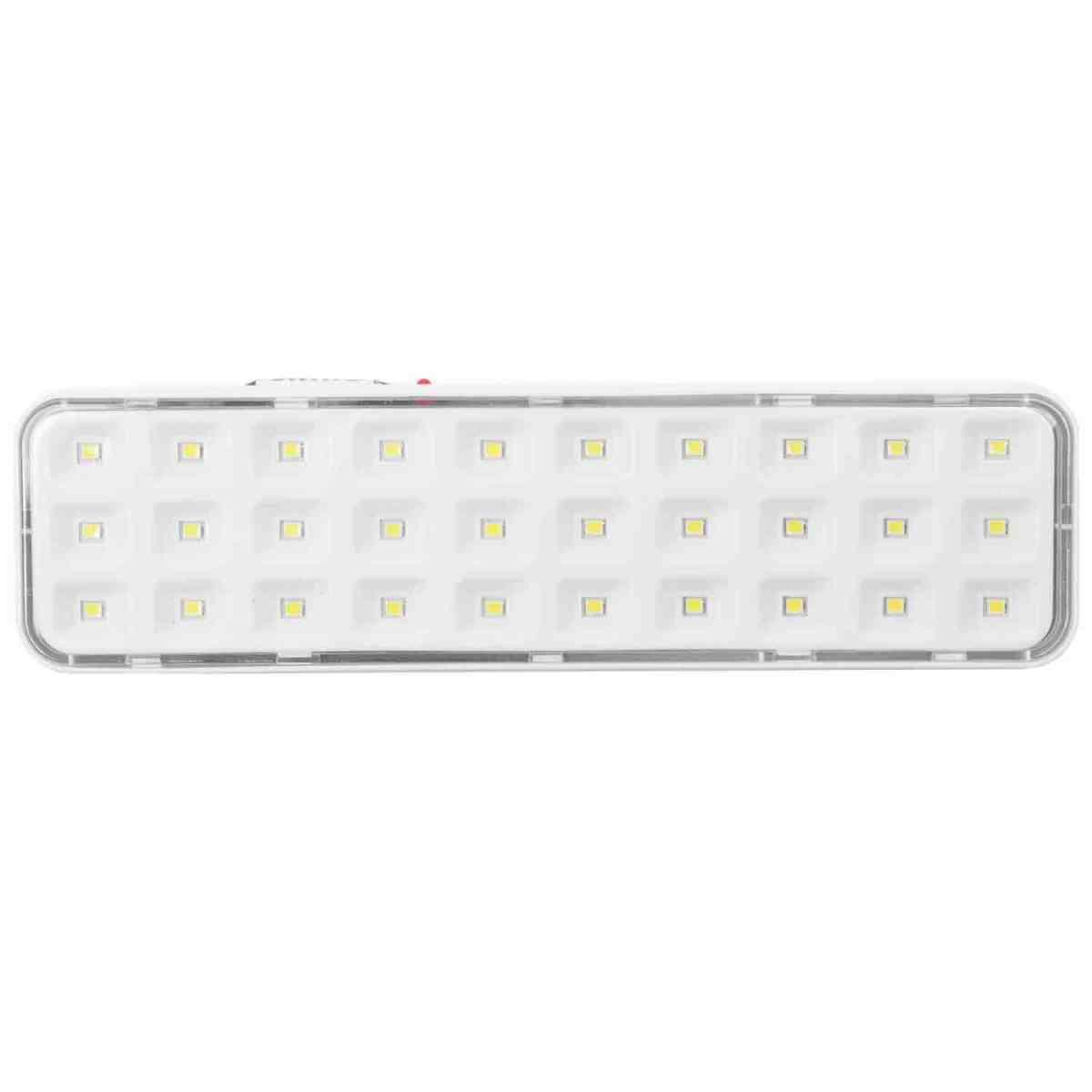 5 Luzes de Emergência 30 Leds A Bateria Segurimax - Bivolt