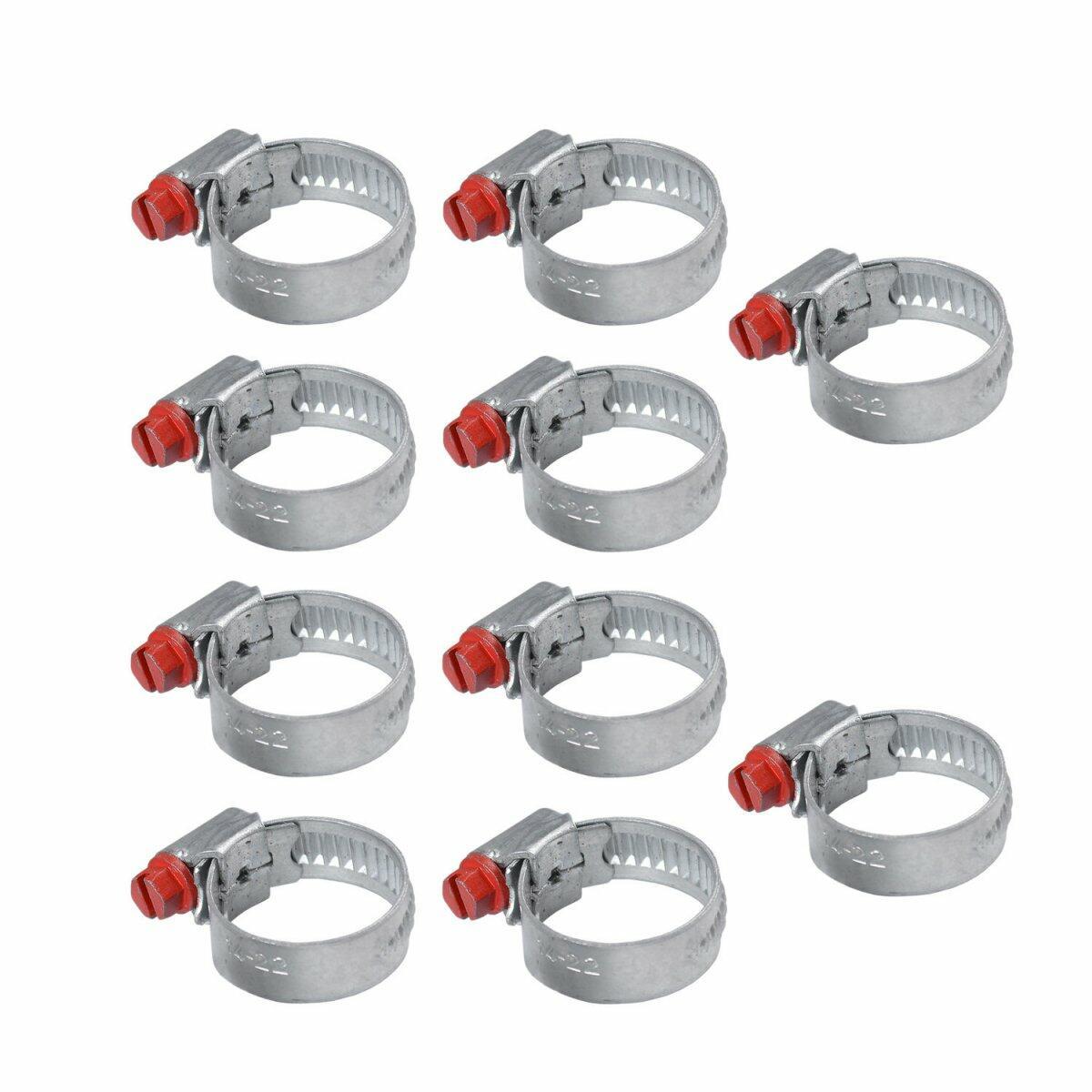 Abraçadeira Micro 14 A 22Mm Mab1422 10 Peças Suprens