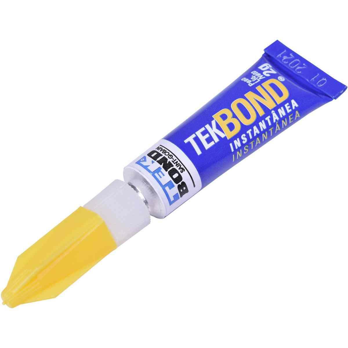 Adesivo Instantâneo 2G Tekbond