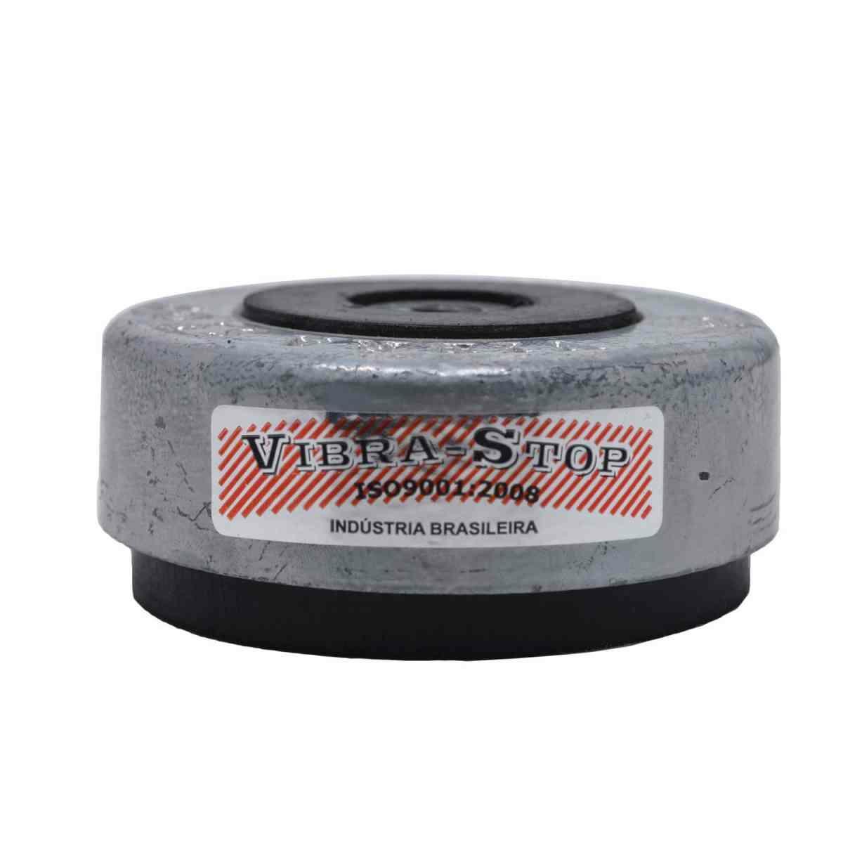Amortecedor de Impacto e Vibração Mini Vibra-Stop Parafuso 3/8