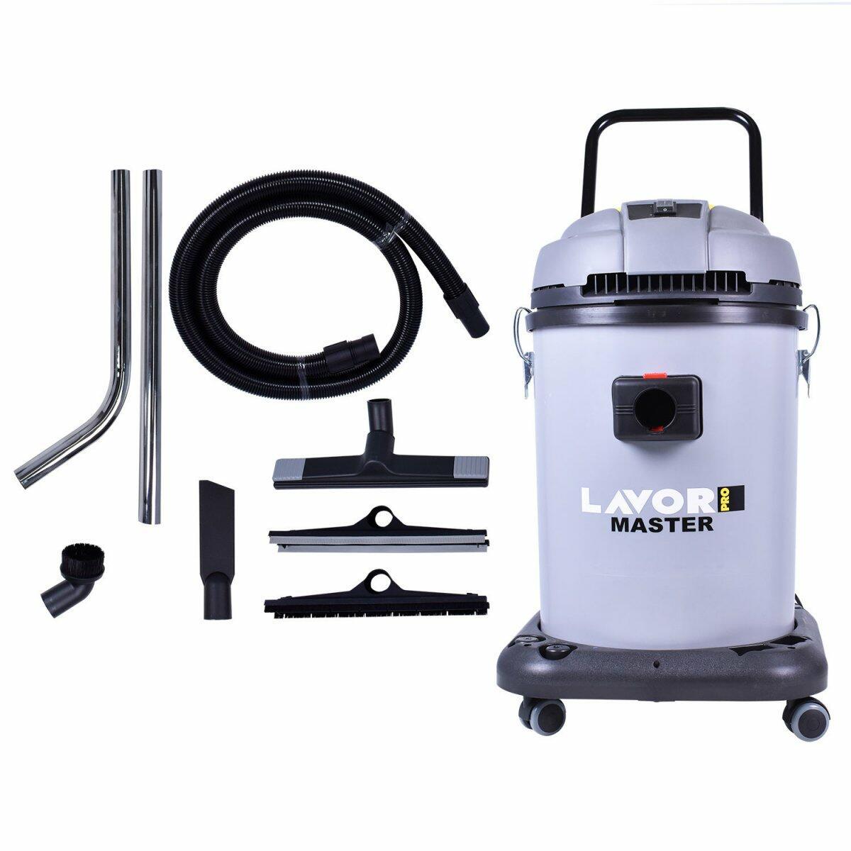 Aspirador de Pó 1400W 50L Master 1.50 Plast Lavor – 220 V