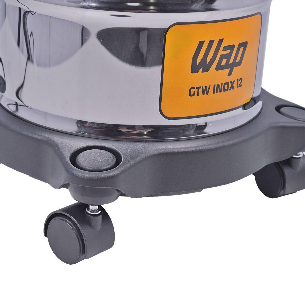 Aspirador de Pó e Água 1400W 12Lt Gtw Inox 12 Wap – 220V
