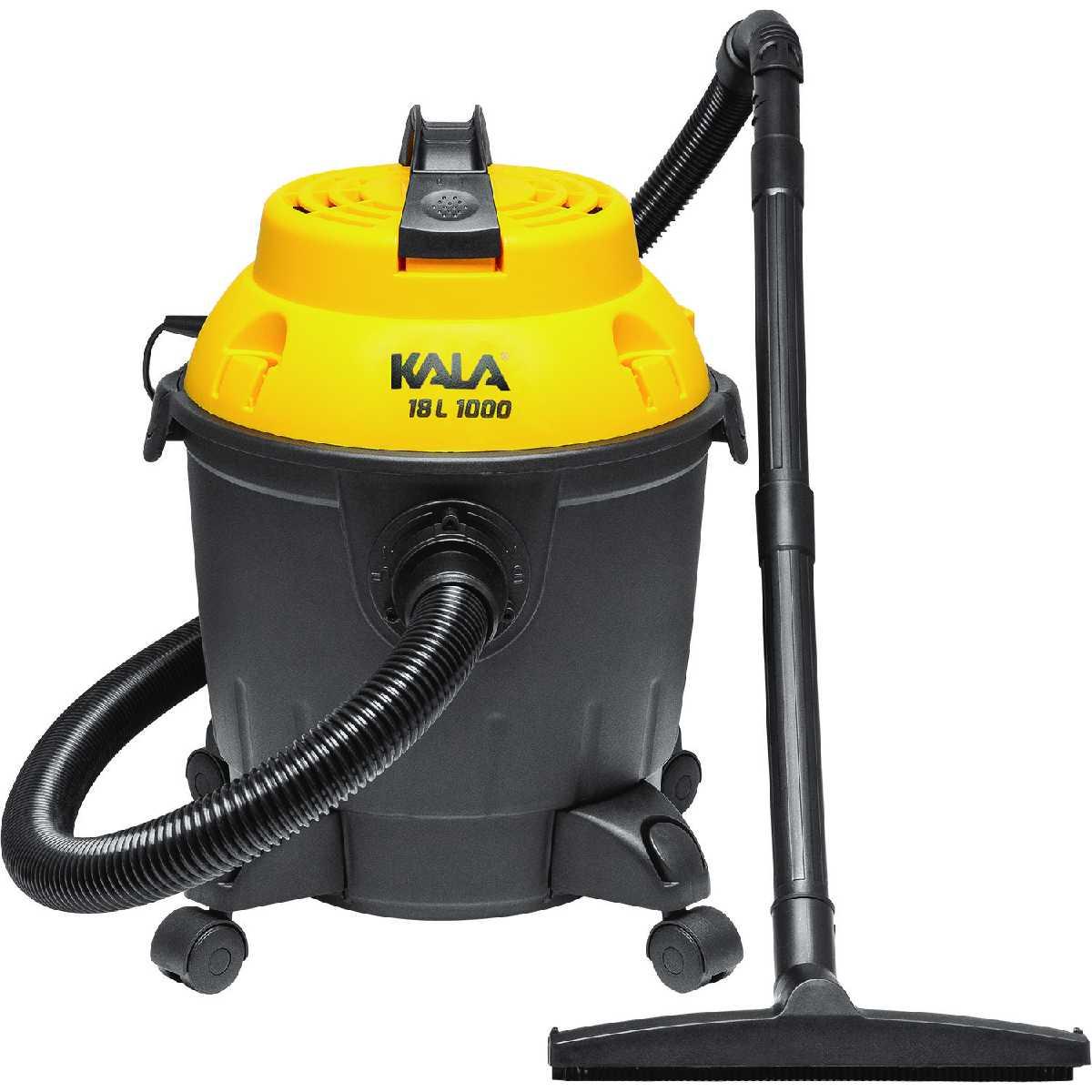 Aspirador de Pó e Água 18L 1000W Kala 127V