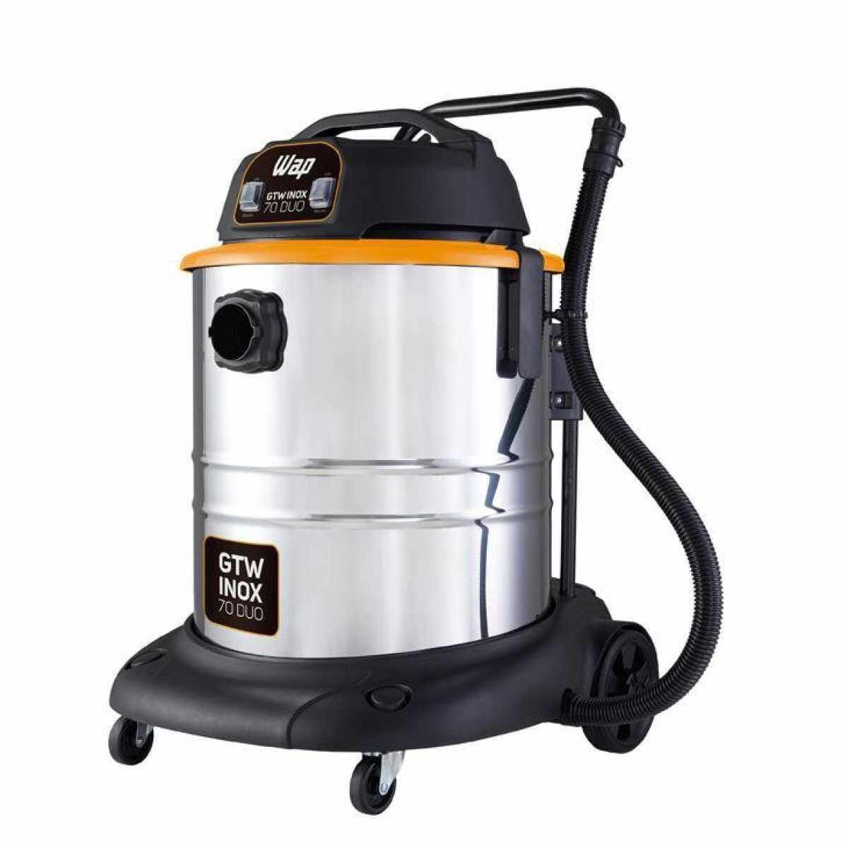 Aspirador de Pó e Água 1400W Gtw Inox 70 Duo Wap
