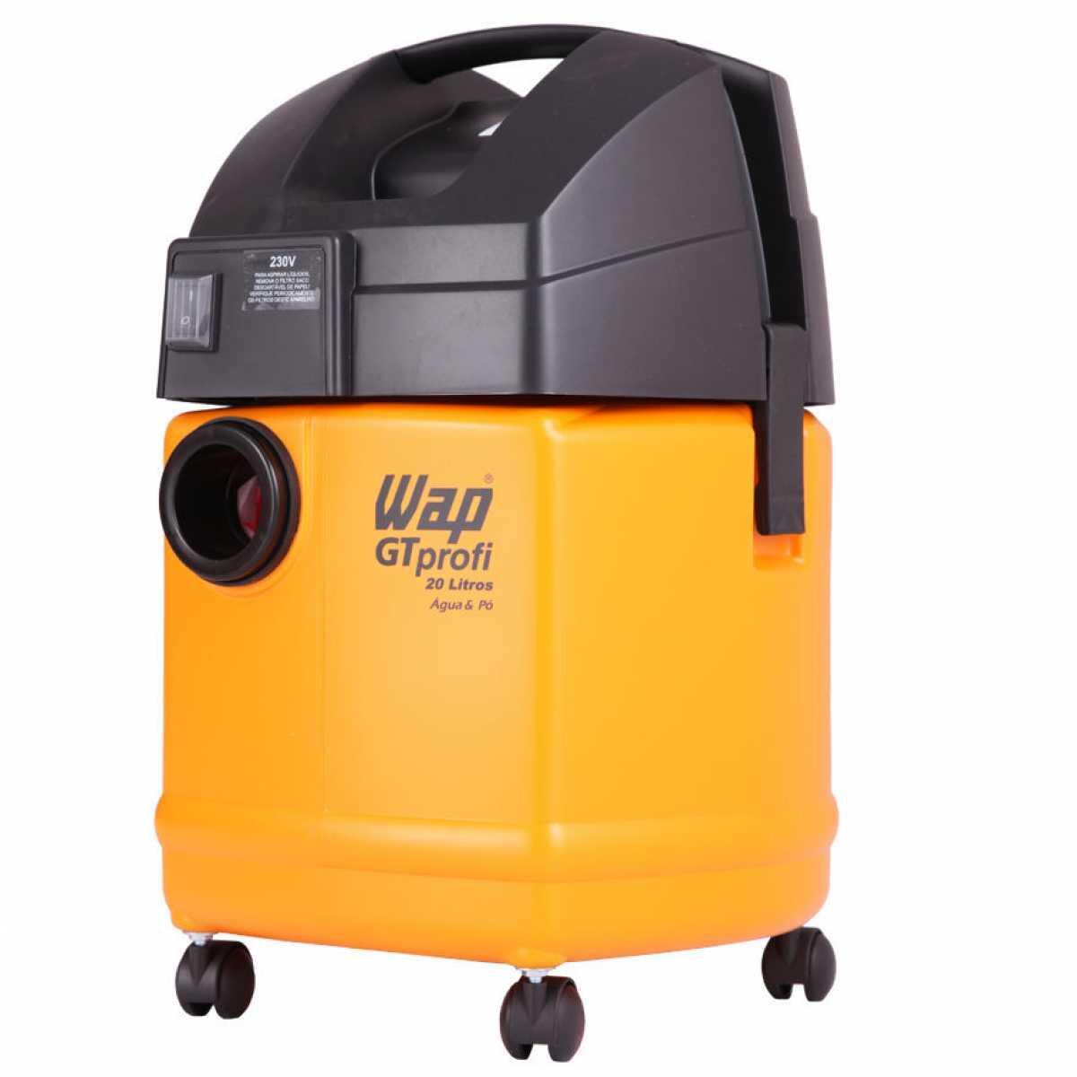 Aspirador de Pó e Líquidos 1400W 20L Wap Gt Profi 20L - 127V
