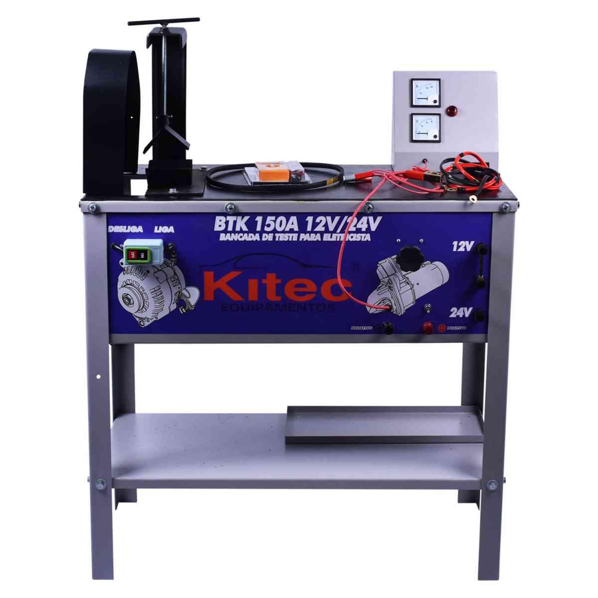 Bancada de Teste Alternador S/ Motor 12/24V BTK150SM Kitec