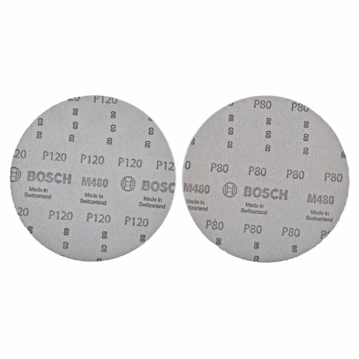 Base de Disco Com Velcro Multifuros Lixadeira 150mm Bosch