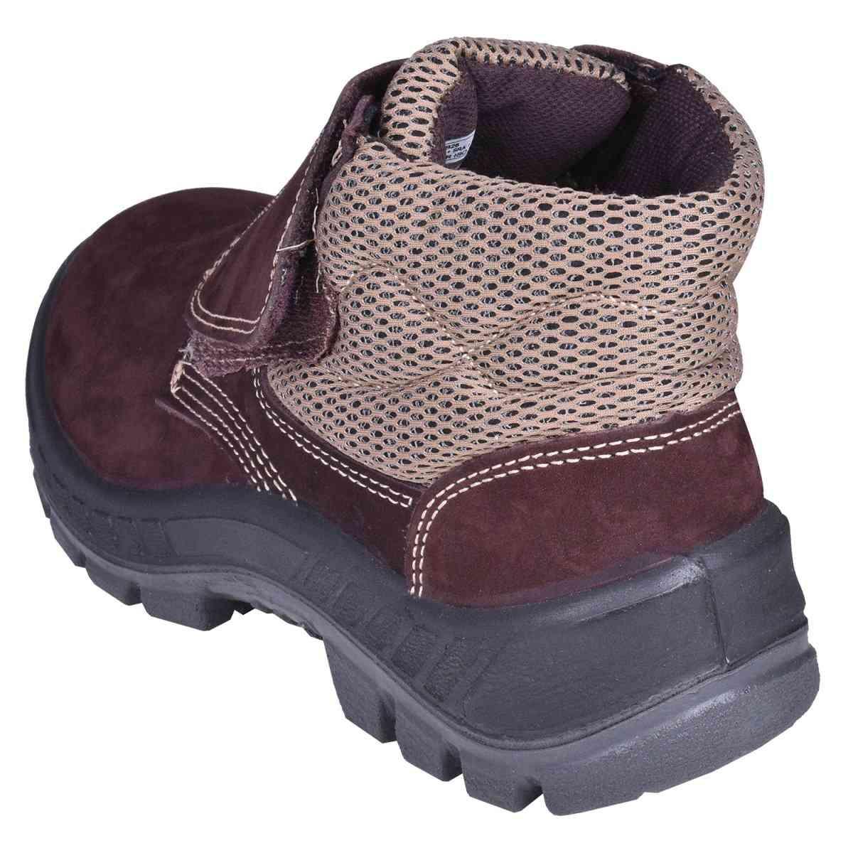 Botina Nobuck Com Velcro Marluvas - Nº 44