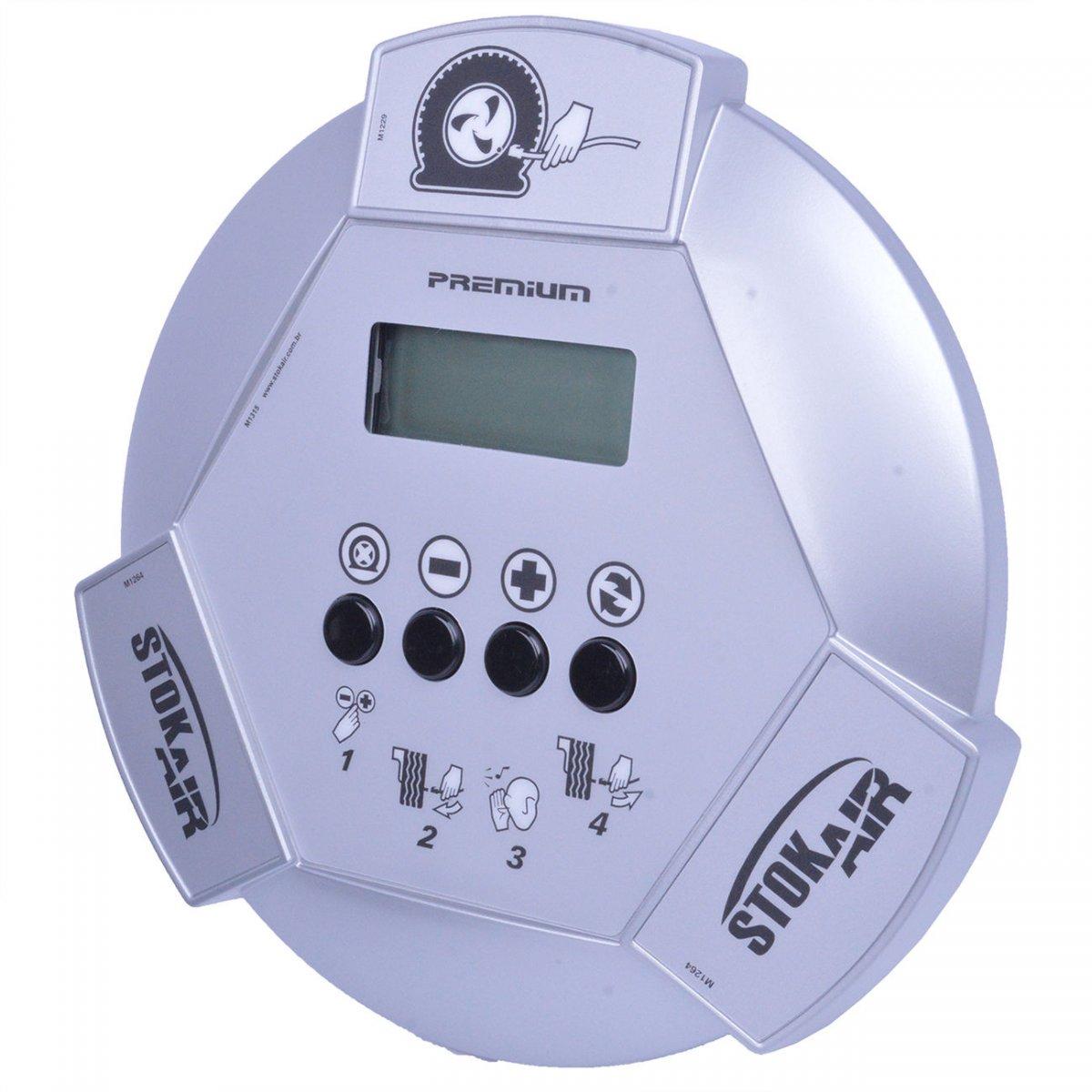 Calibrador De Pneus Premium Stok Air - Bivolt