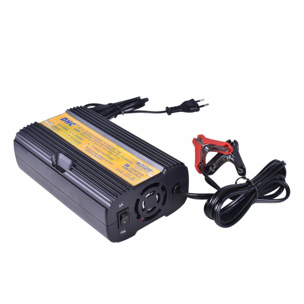 Carregador de Bateria de Carro e Moto 12V SC 212 Alfatest - 220V