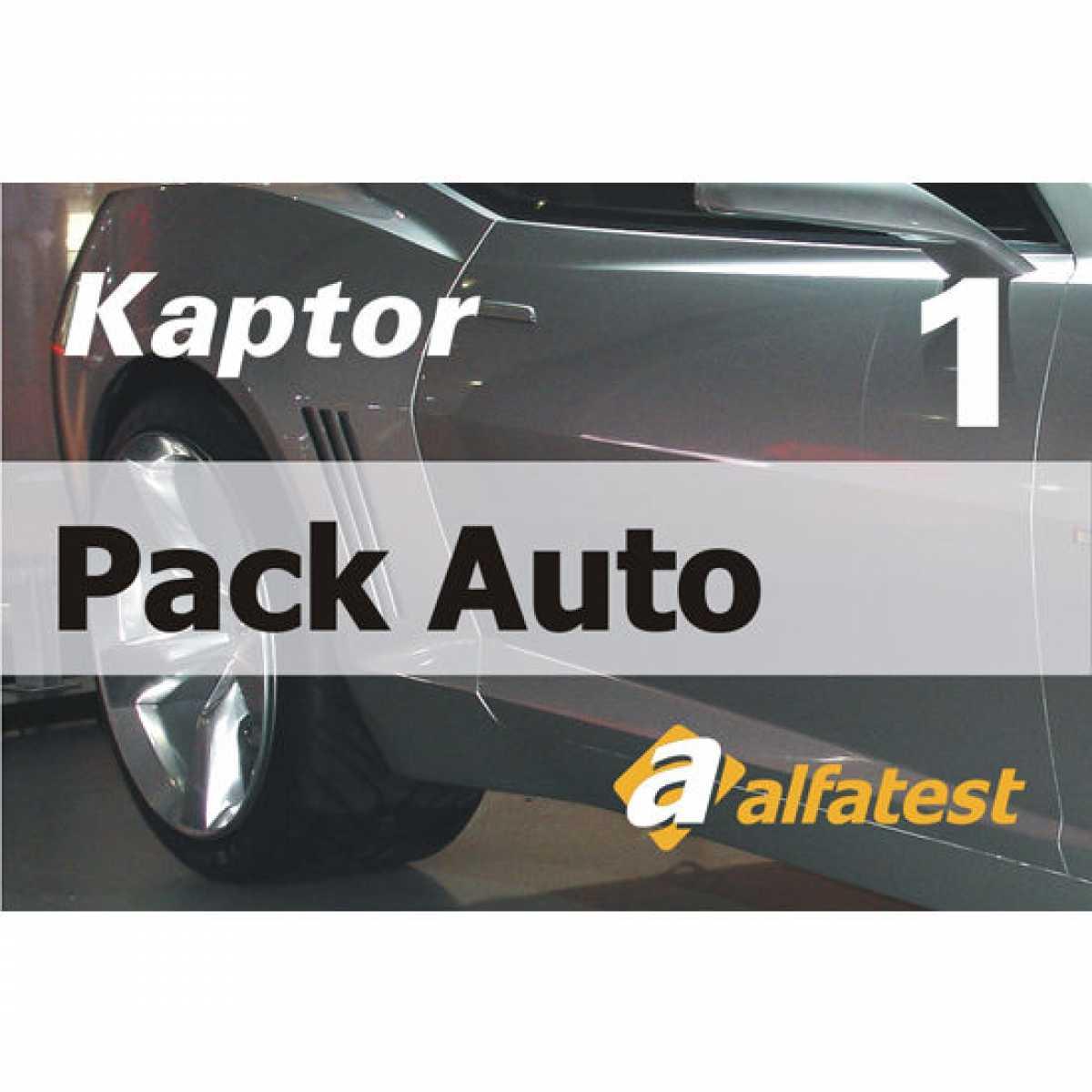 Cartao Liberacao Pack Auto 1 Alfatest
