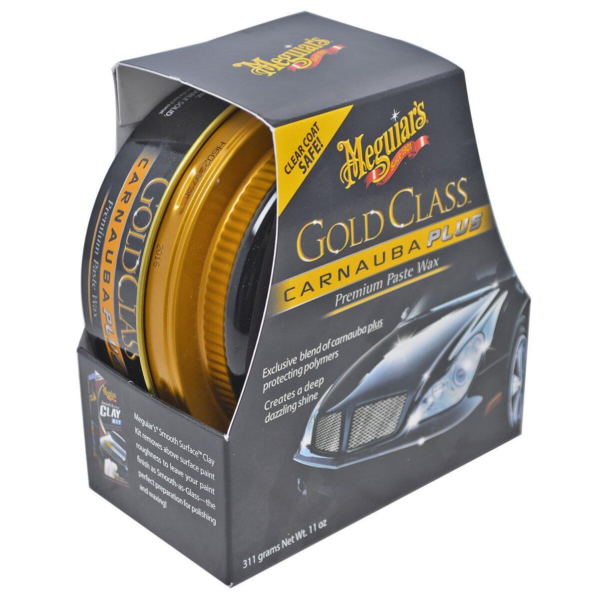 Cera Automotiva Em Pasta 311g Gold Class G7014 Meguiars