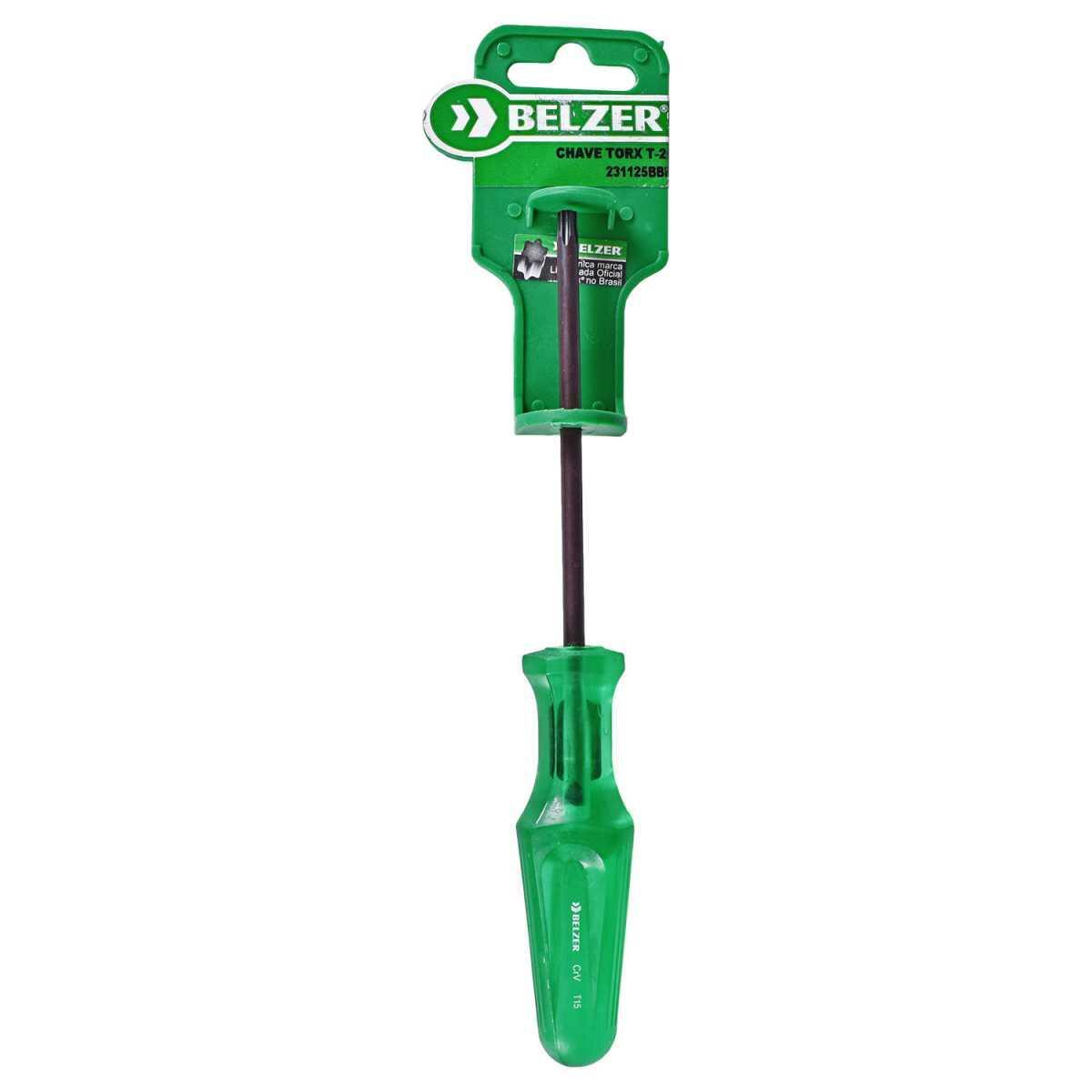 Chave de Fenda Torx T25 231125Bbr Belzer