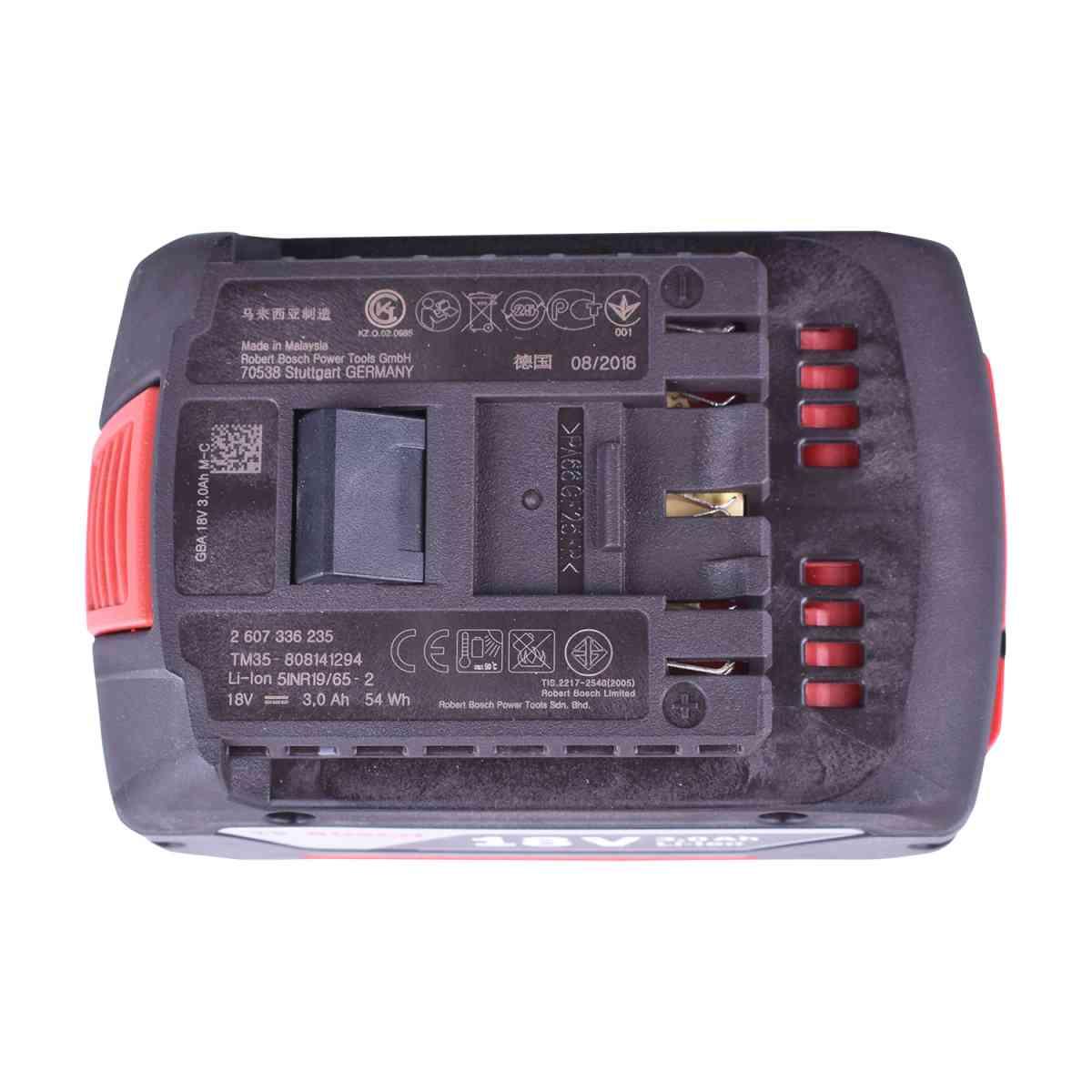 """Chave de Impacto 1/4"""" e 1/2"""" 18V GDX180-LI + Serra Sabre GSA18V-LI + Carregador com 2 Baterias 18V + Bolsa Para Ferramentas Bosch"""