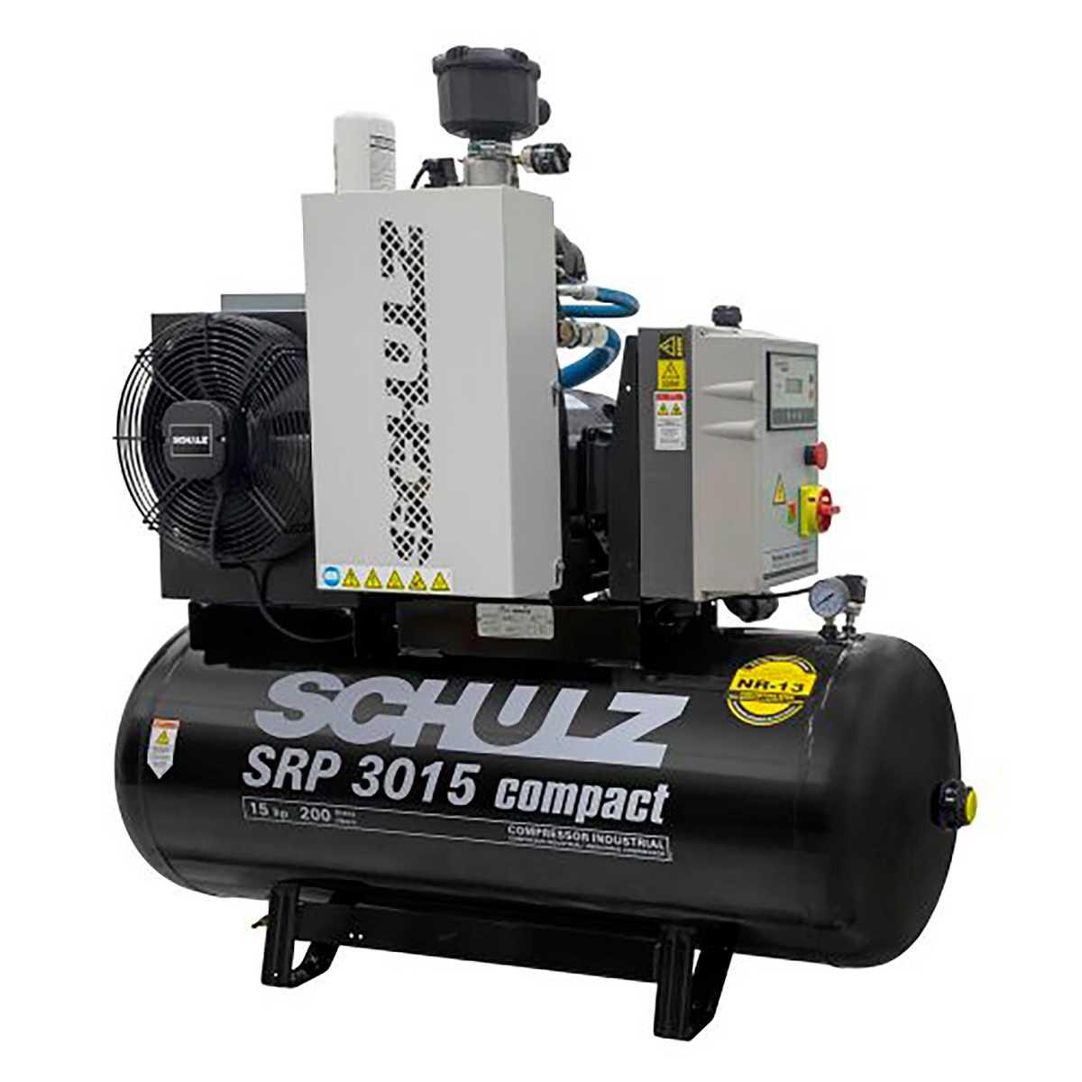 Compressor Ar 131 Psi 15Cv Srp3015E 220V Schulz