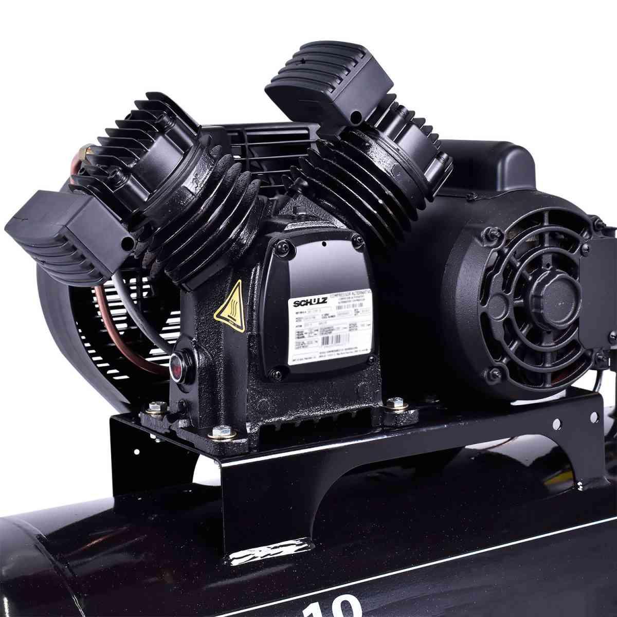 Compressor De Ar 100L 10PCM CSV10/100 Pratic Air Schulz 220V