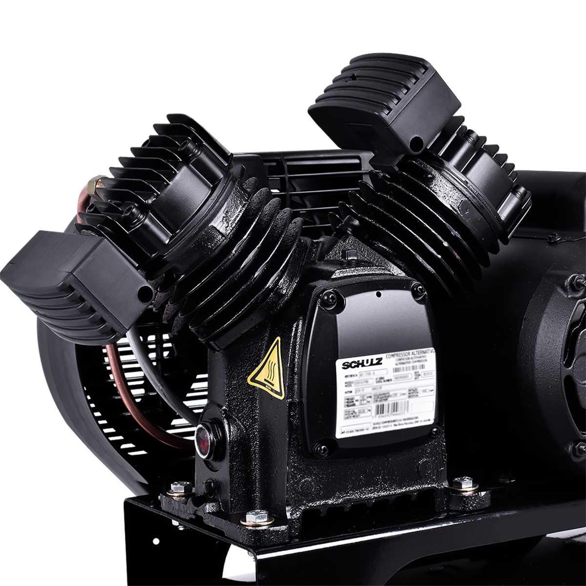 Compressor de Ar 100L 10Pcm Csv10/100 Pro Schulz - 127V
