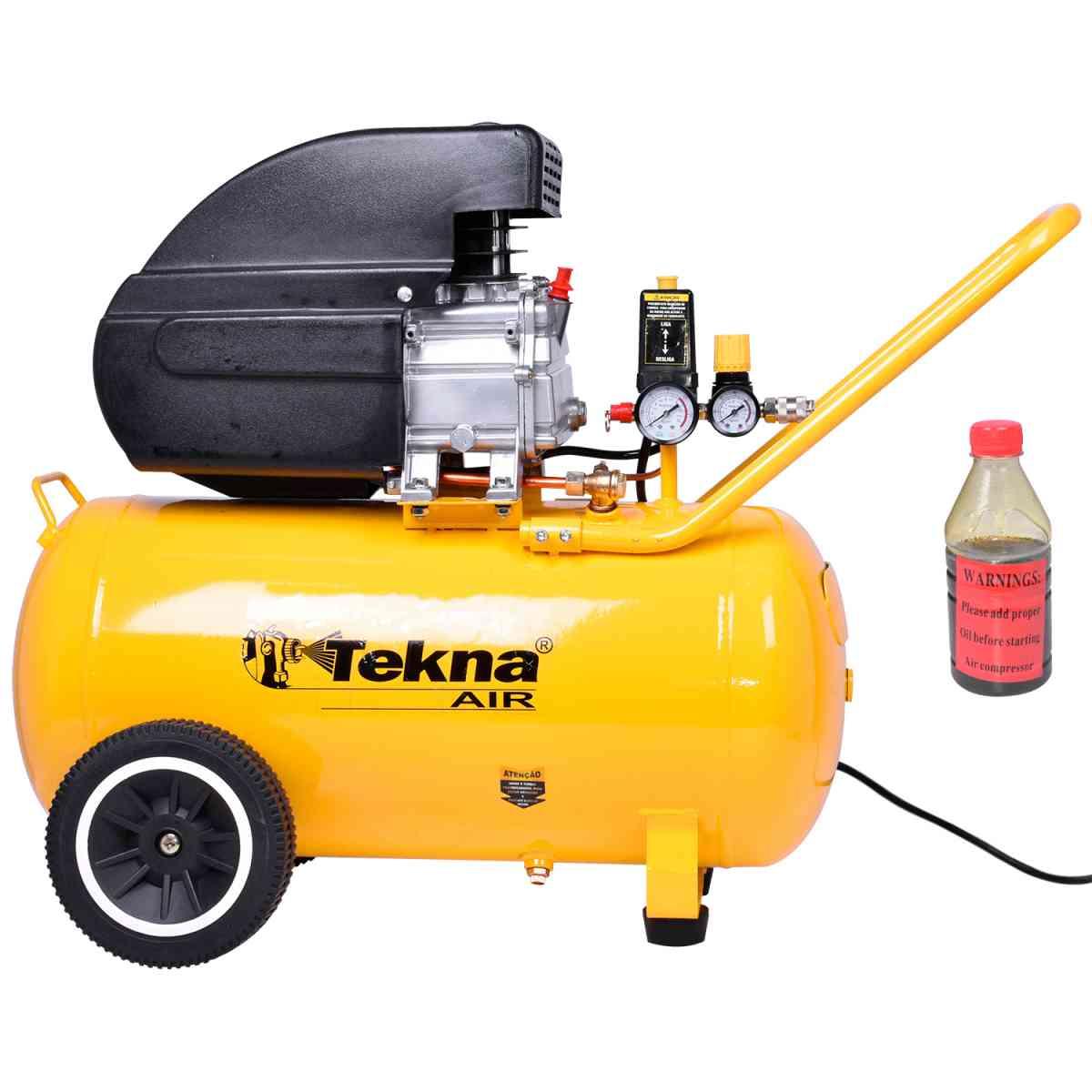 Compressor de Ar 2,0 HP e 50 L CP8550-2C Tekna