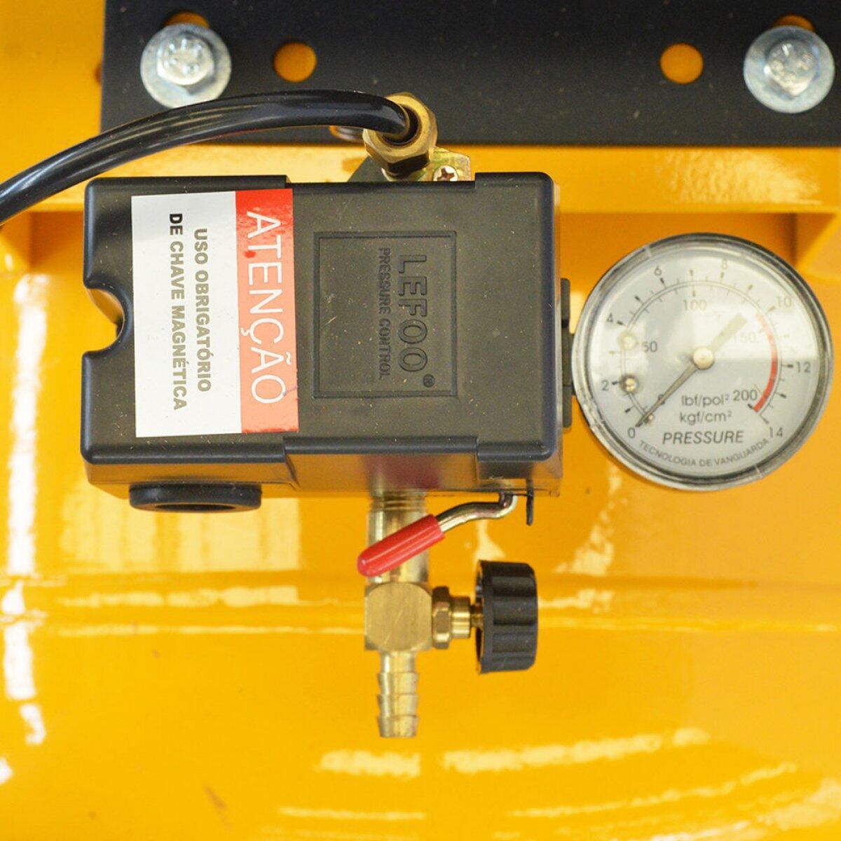 Compressor de ar 20 Pés 150L Pressure SE20/150V - 220/380V Trifásica