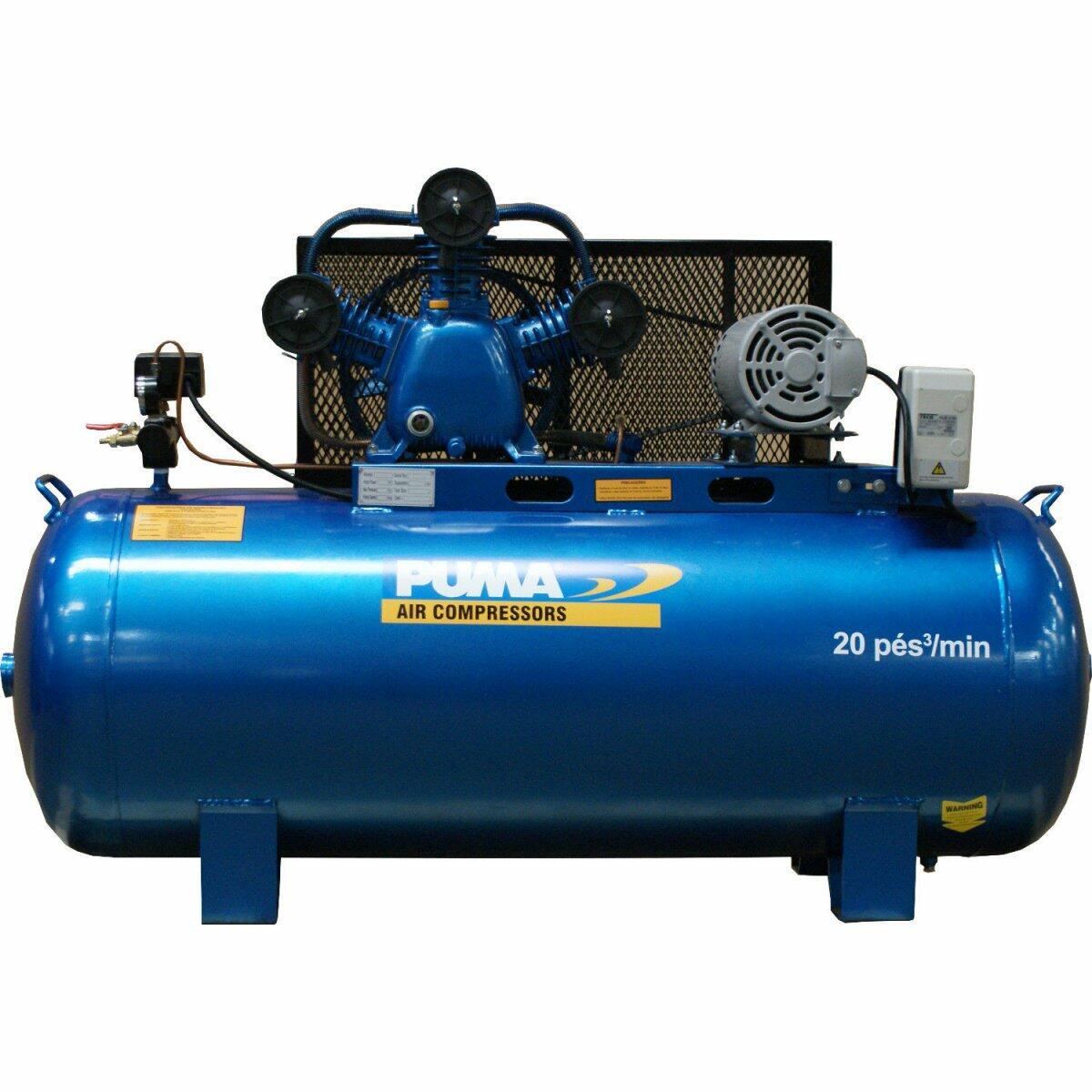 Compressor De Ar 20Pés Horizontal 200L PBA40200HM Puma - 220V