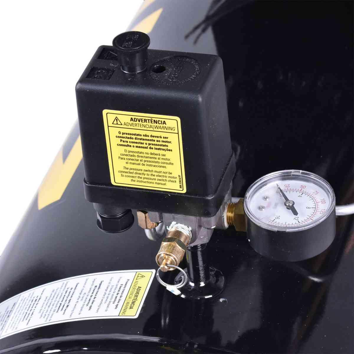 Compressor de Ar Audaz Mcsv 20/200 Schulz - Trif. 220/380V