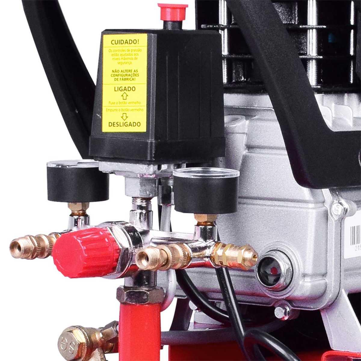 Compressor Portátil 24 Litros 220V Worker