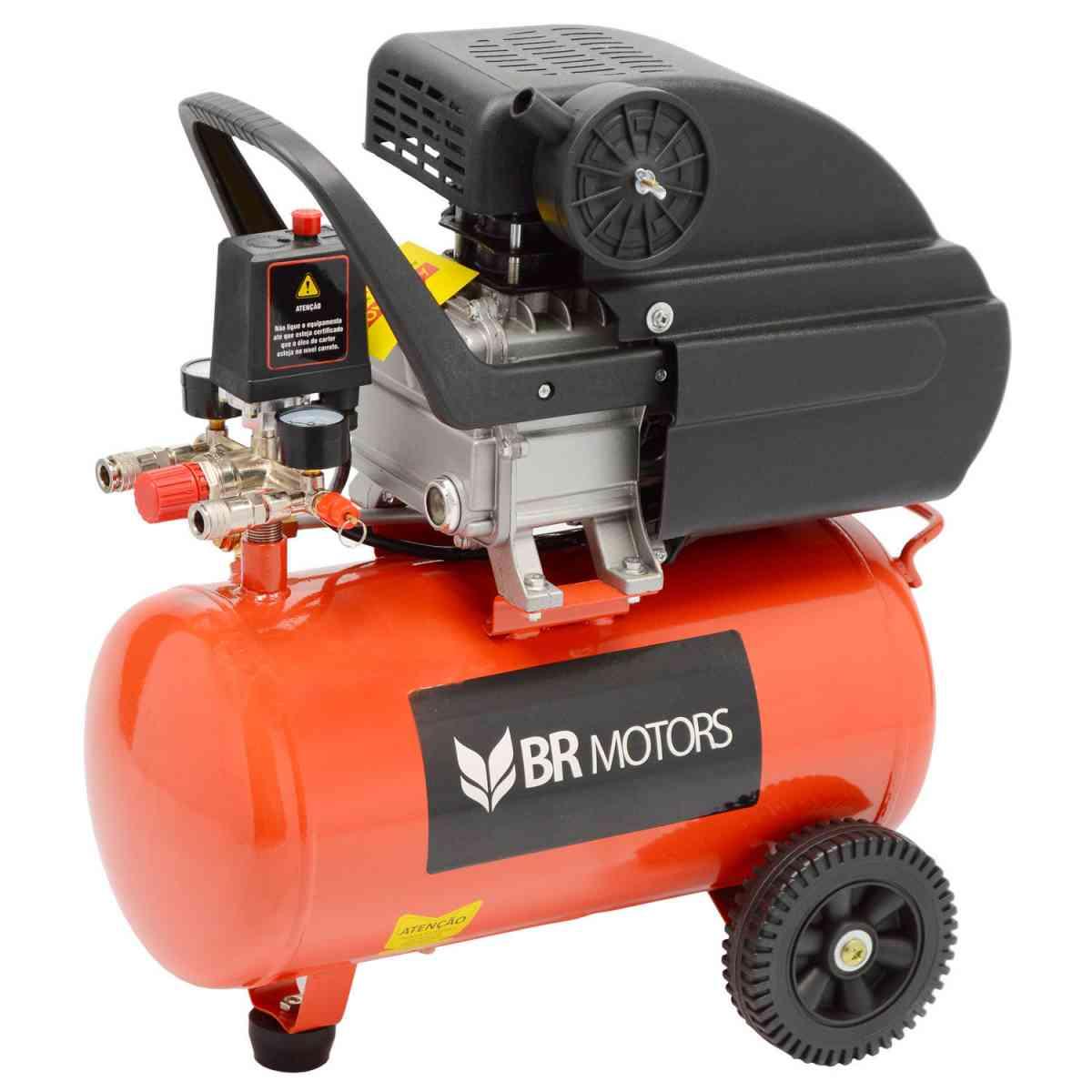 Compressor RDC 8.8 PCM 24 Litros Com Kit Br Motors - 127V