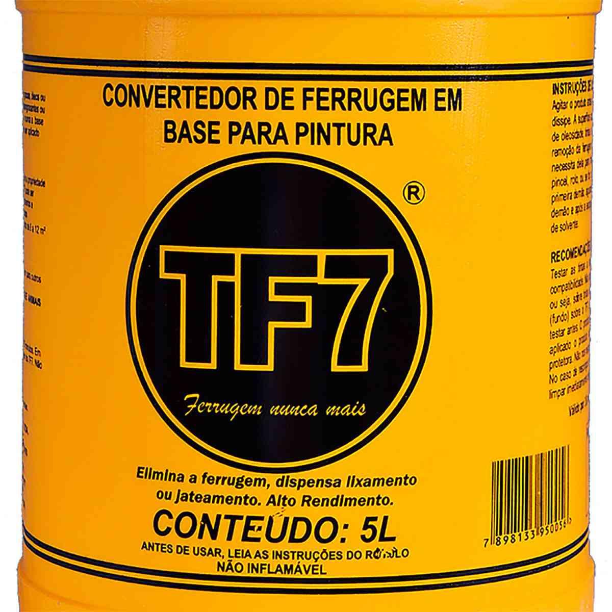 Convertedor de Ferrugem CF-TF7 5 Litros TF7