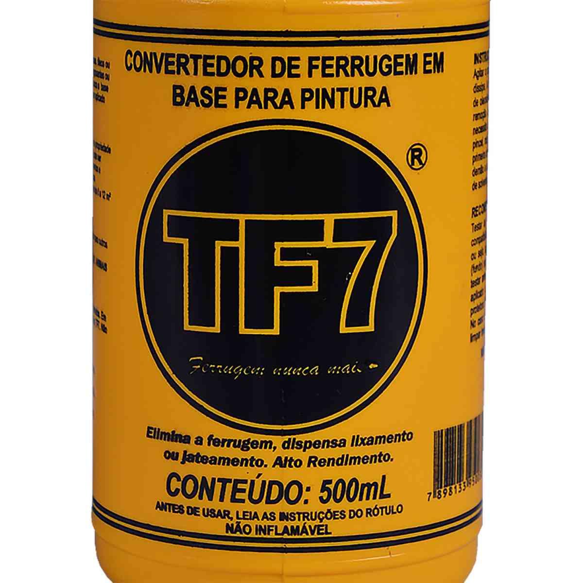 Convertedor de Ferrugem CF-TF7 500 ml TF7