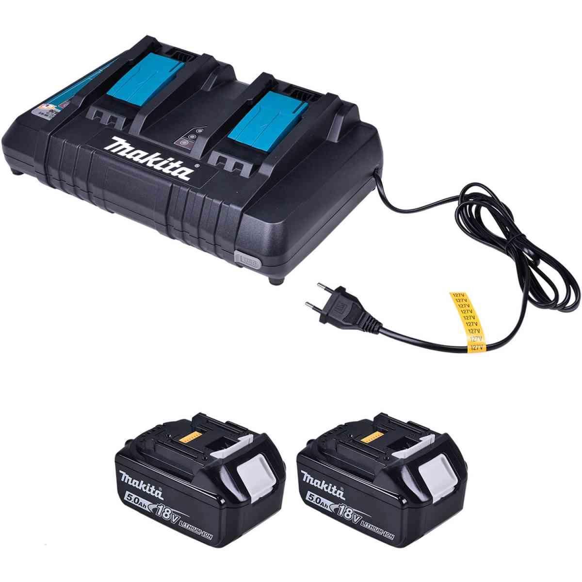 Cortador de Grama 3 em 1 18V a Bateria Dlm460Pt2 Makita