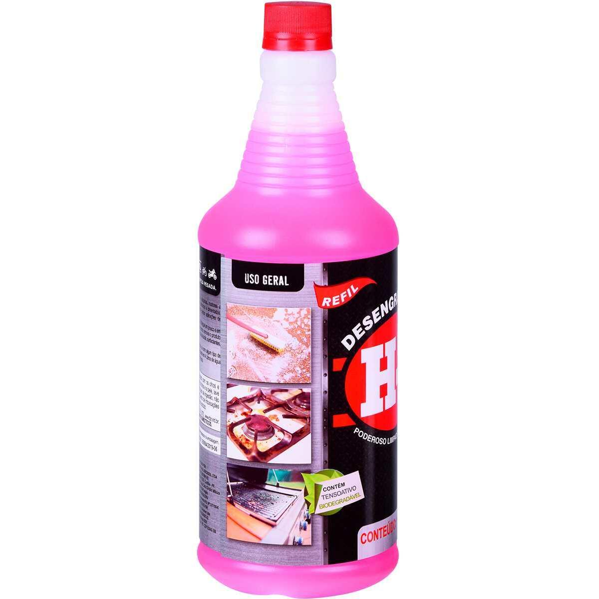 Desengraxante e Removedor para Limpeza Pesada H7 1 Litro