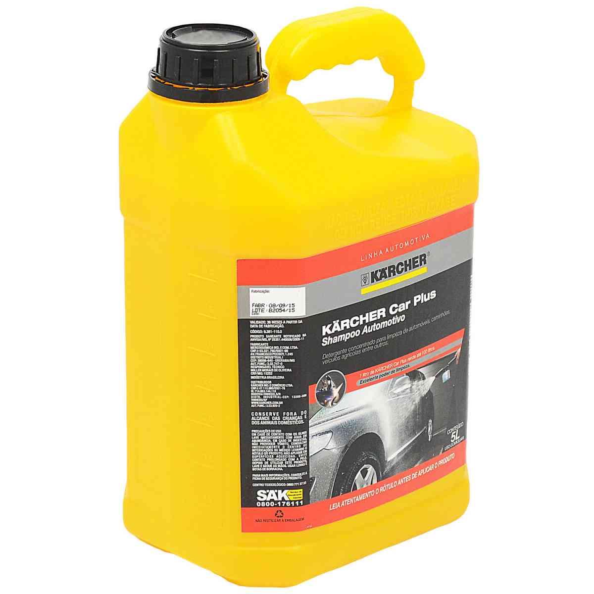 Detergente Automotivo 5 litros Car Plus Karcher