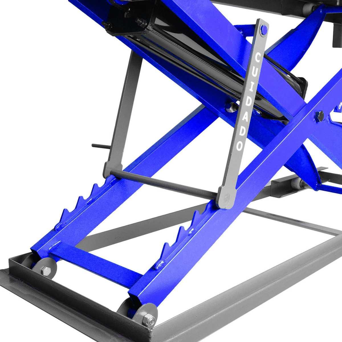 Elevador de Motos Pneumático 400Kg Tell300 Azul Krebsfer