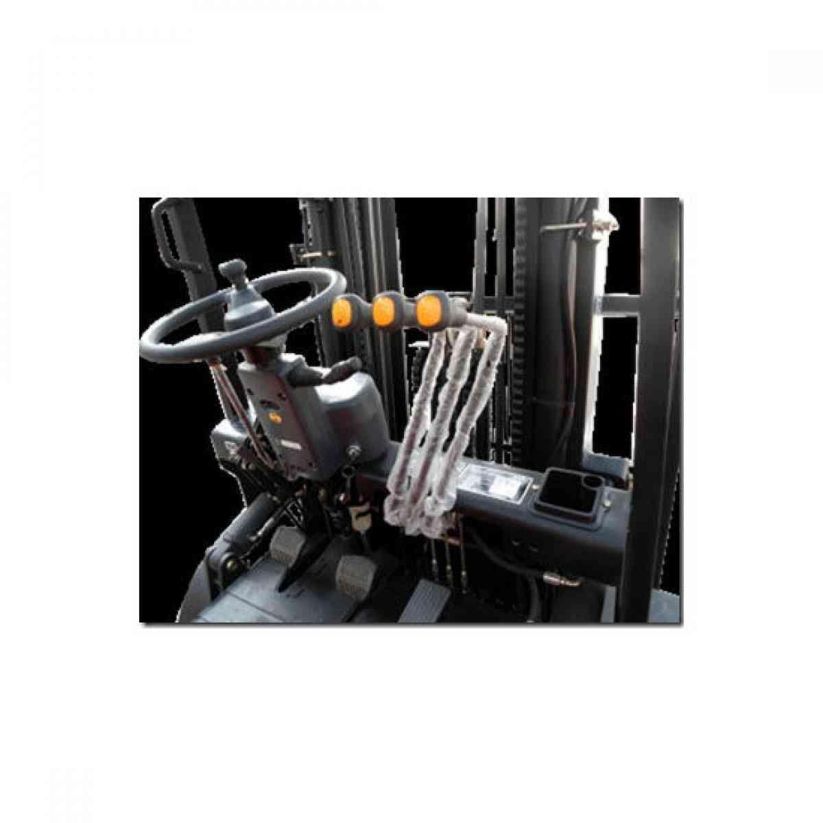 Empilhadeira à Diesel 3 Toneladas 4,5 Metros 3 Estágios FZBR35D-3E Forza
