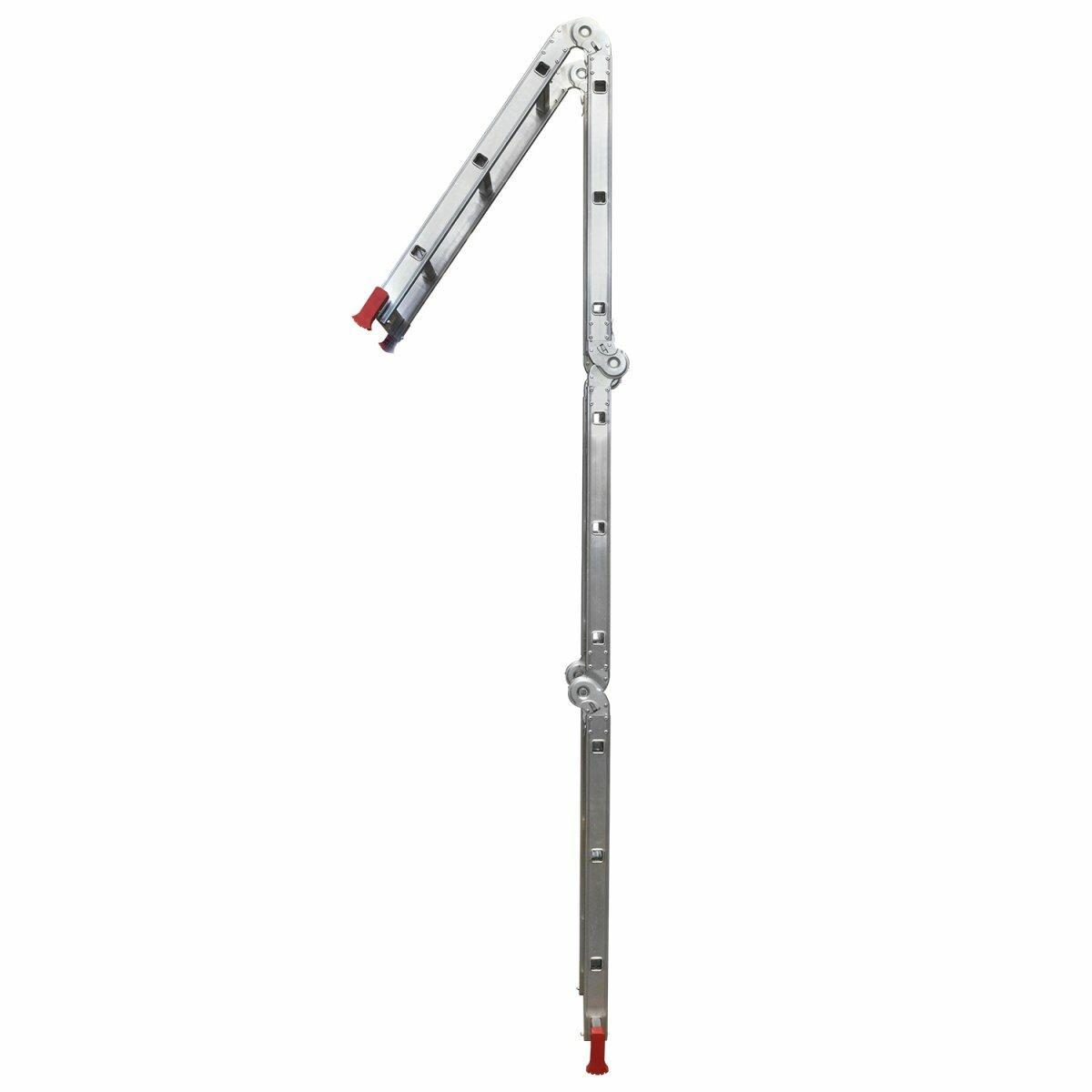 Escada Articulada 4X3 Alumínio 13 em 1 com 3,39m - Botafogo