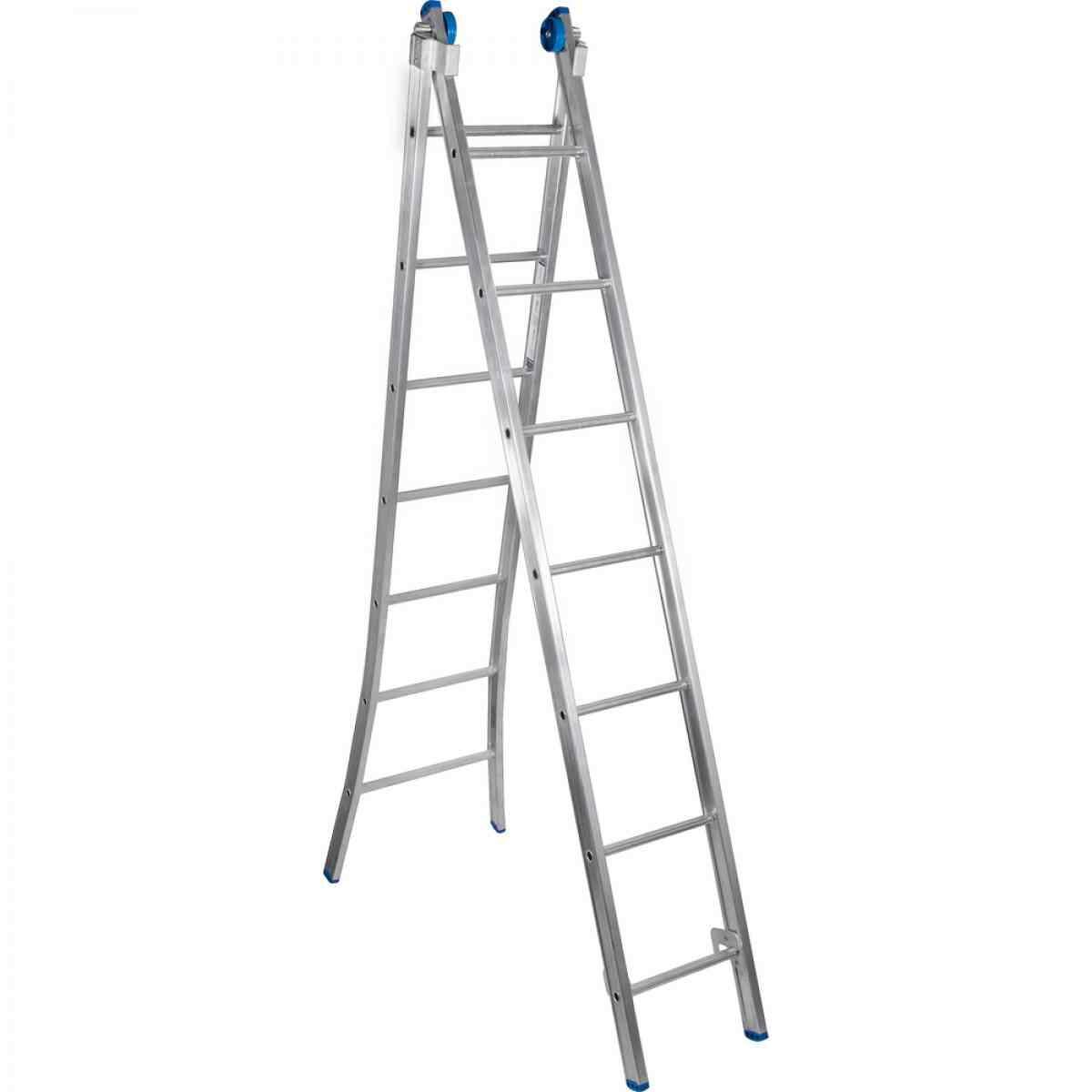 Escada Extensiva Alum.3em1 2x07 Degraus Alumasa