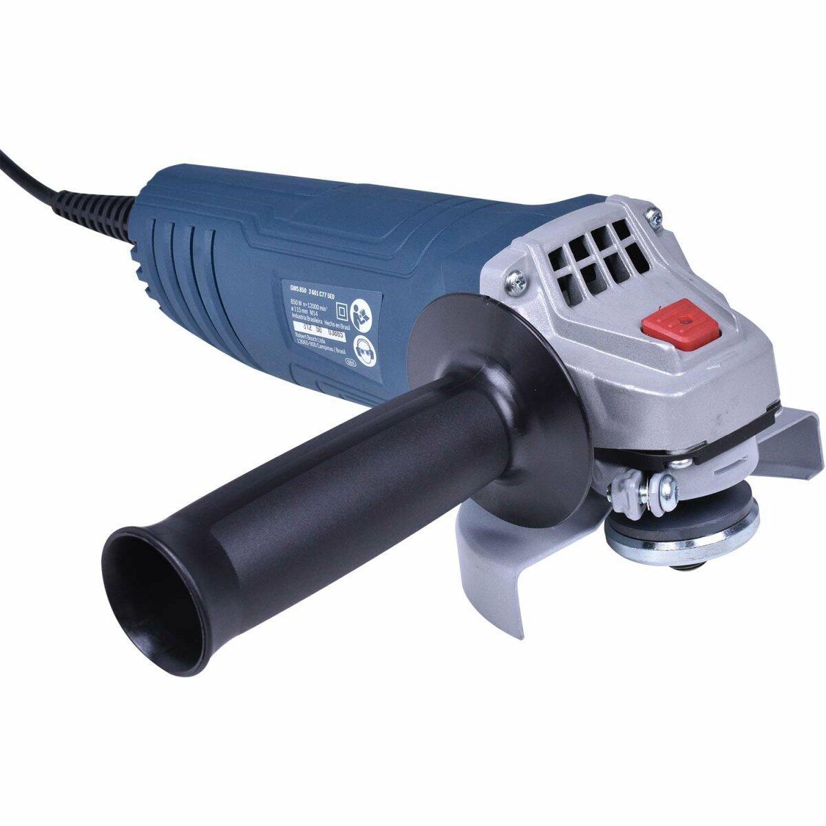 """Esmerilhadeira Angular 4"""" 850W GWS 850 Bosch – 220 V"""