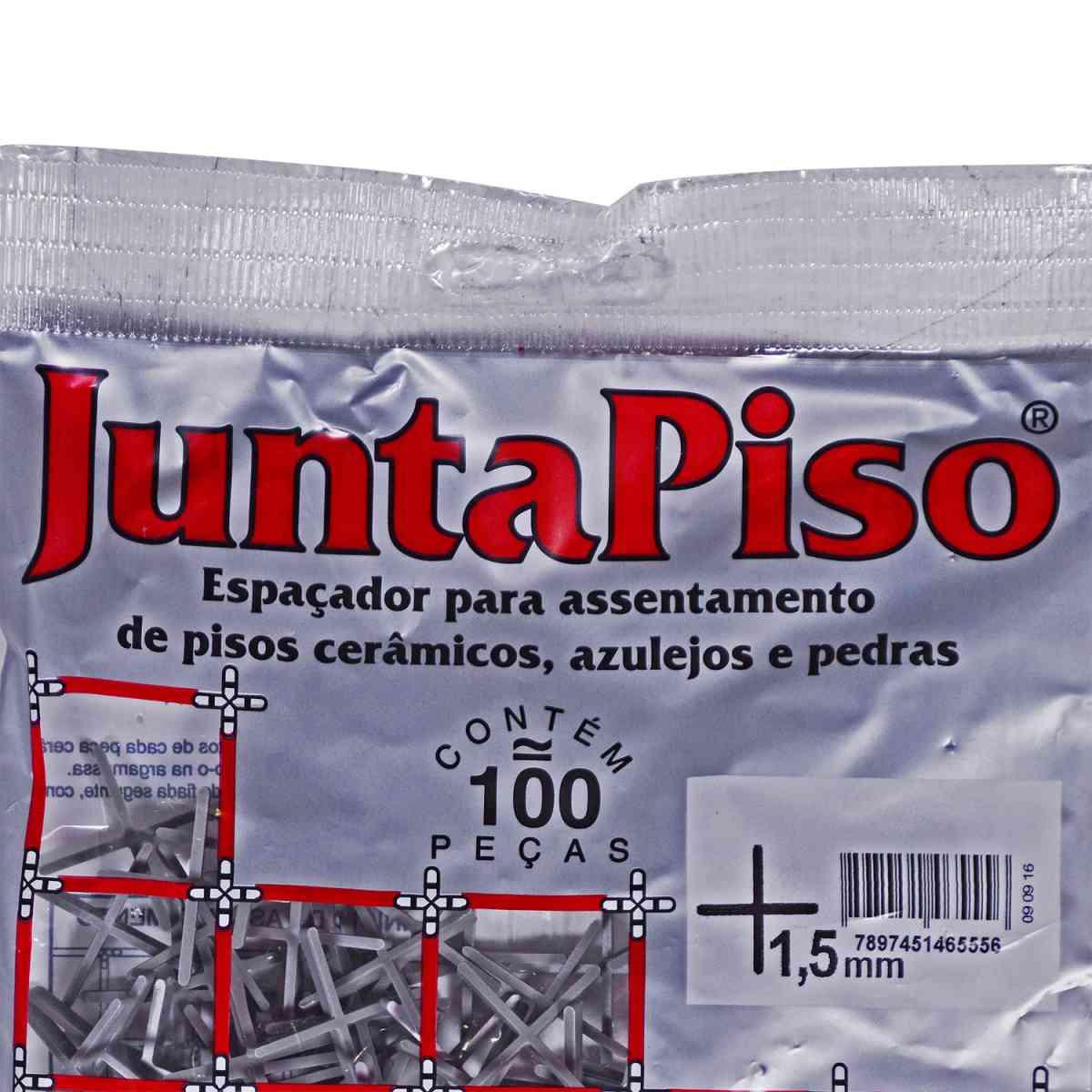 Espaçador de Junta de Piso 1,5 mm Cinza Cortag – 10 Pacotes