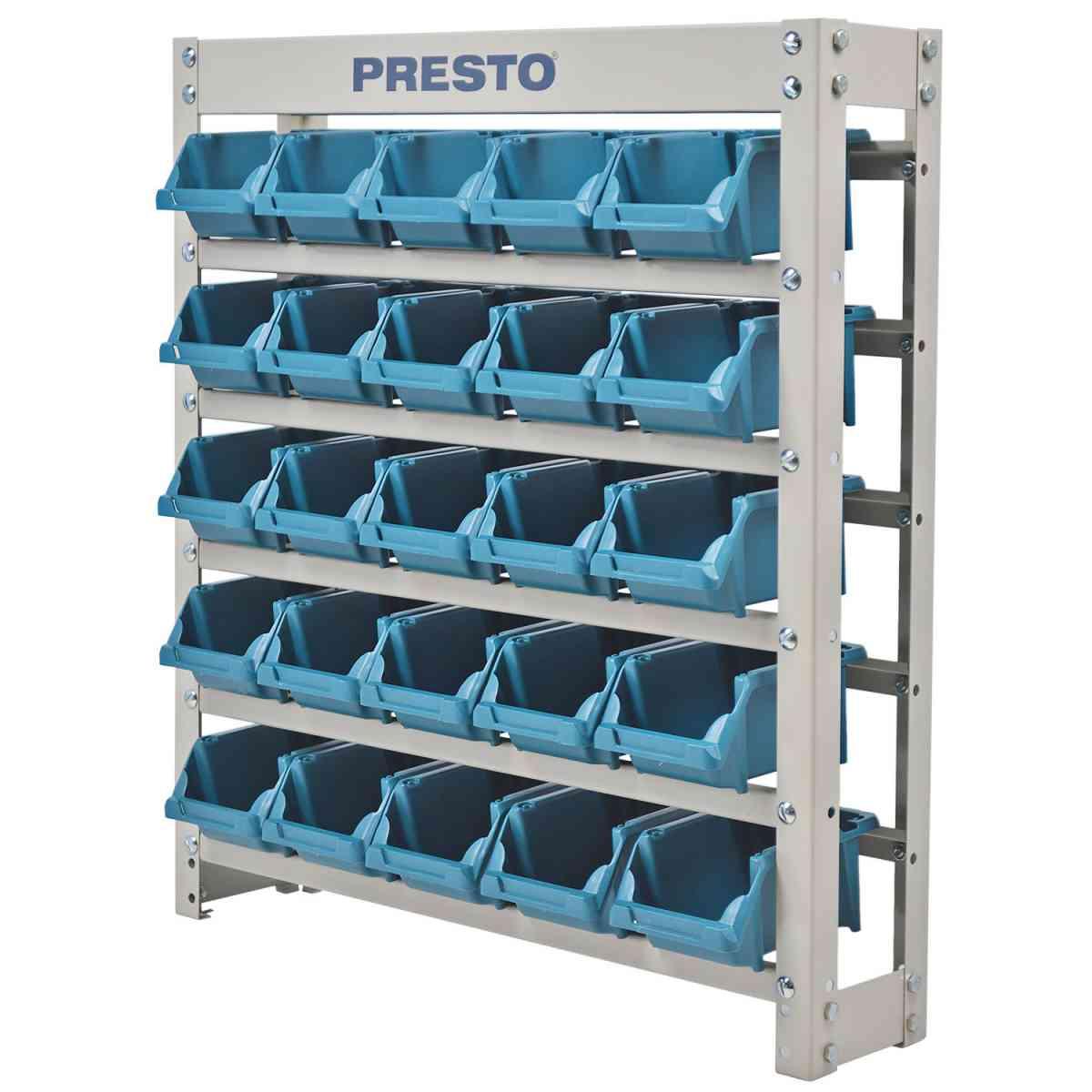 Estante Organizadora Azul 25 Gavetas n°3 8338A Presto