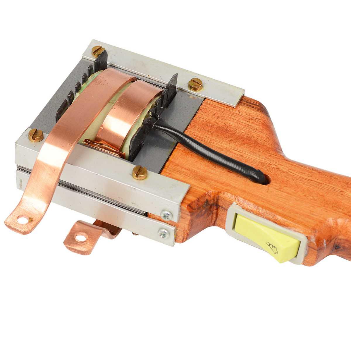 Ferro de Solda Pistola de Madeira 350W Bumafer - 127V