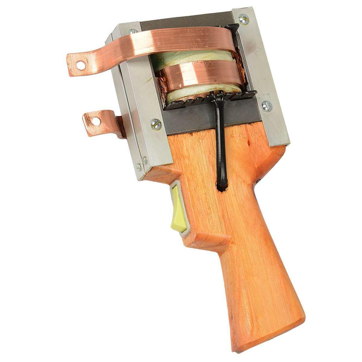 Ferro de Solda Tipo Pistola de Madeira 750W Bumafer