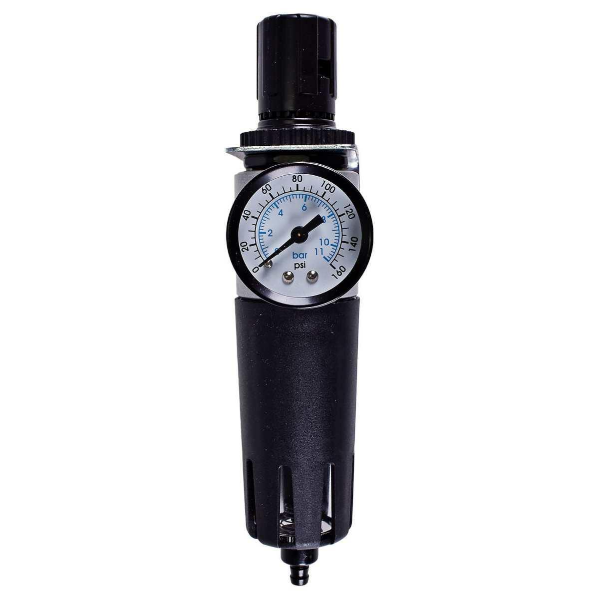Filtro e Regulador Odonto. 1/4 Mini C.ativado Frca1 Pressure