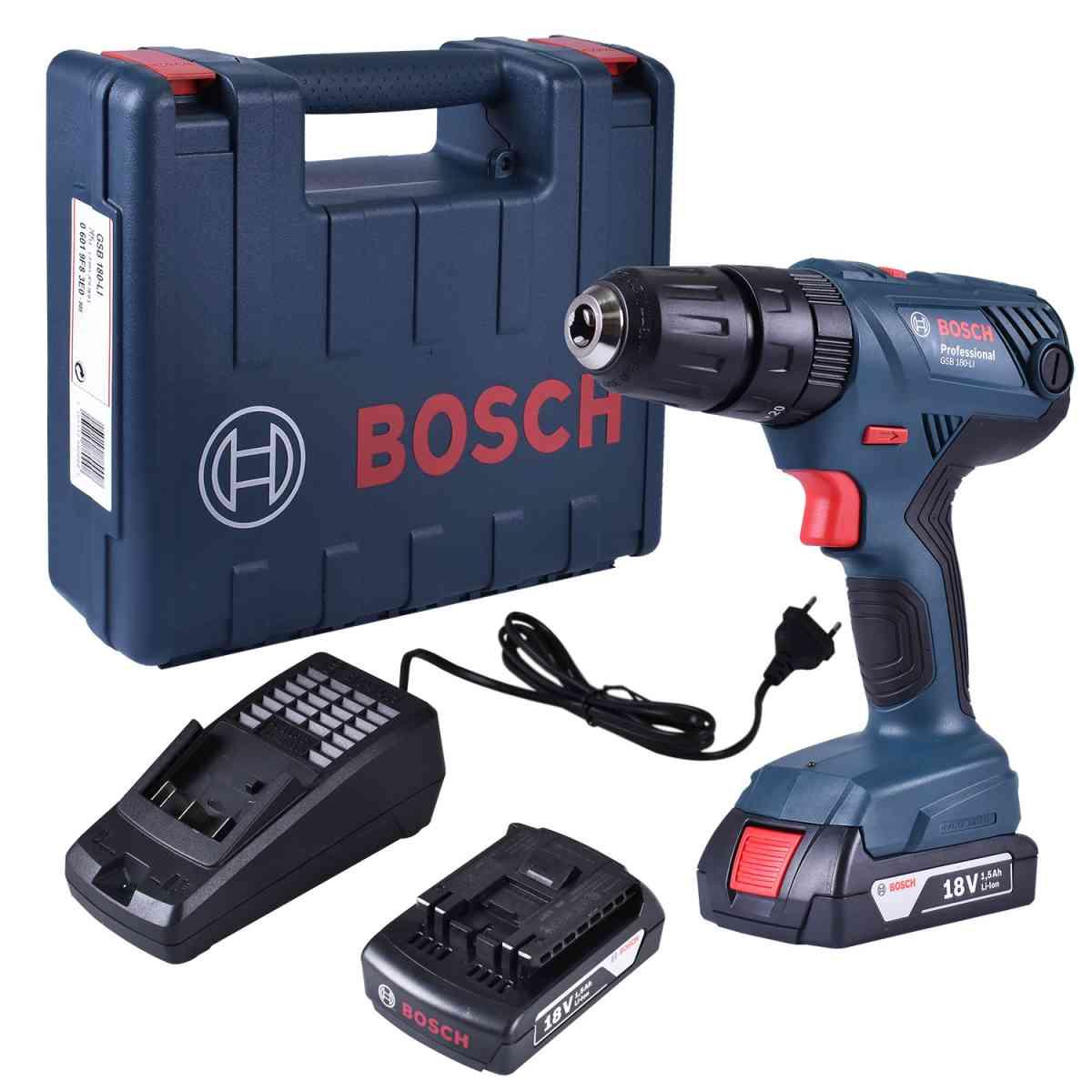 Furadeira e Paraf. de Impacto Bosch Compre Junto Acessórios
