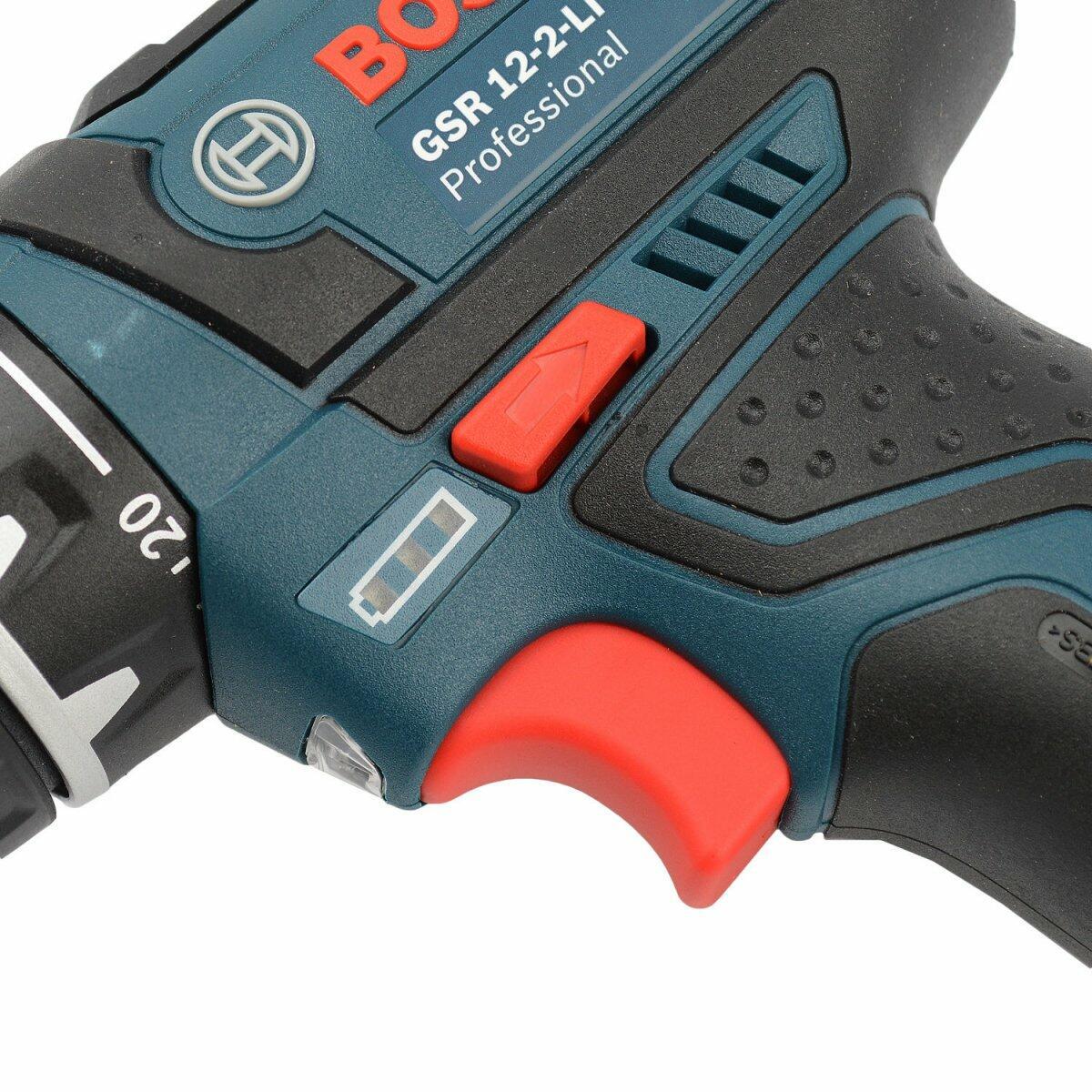 """Furadeira e Parafusadeira A Bateria 3/8"""" GSR12-2LI Bosch - 127V"""