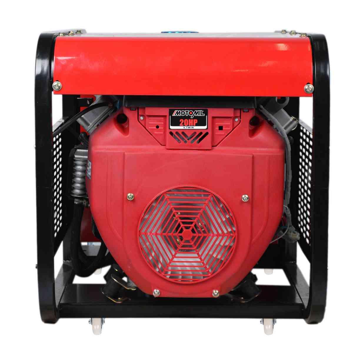 Gerador de Energia 11kVA A Gasolina MG-11000CLE Motomil 110/220V