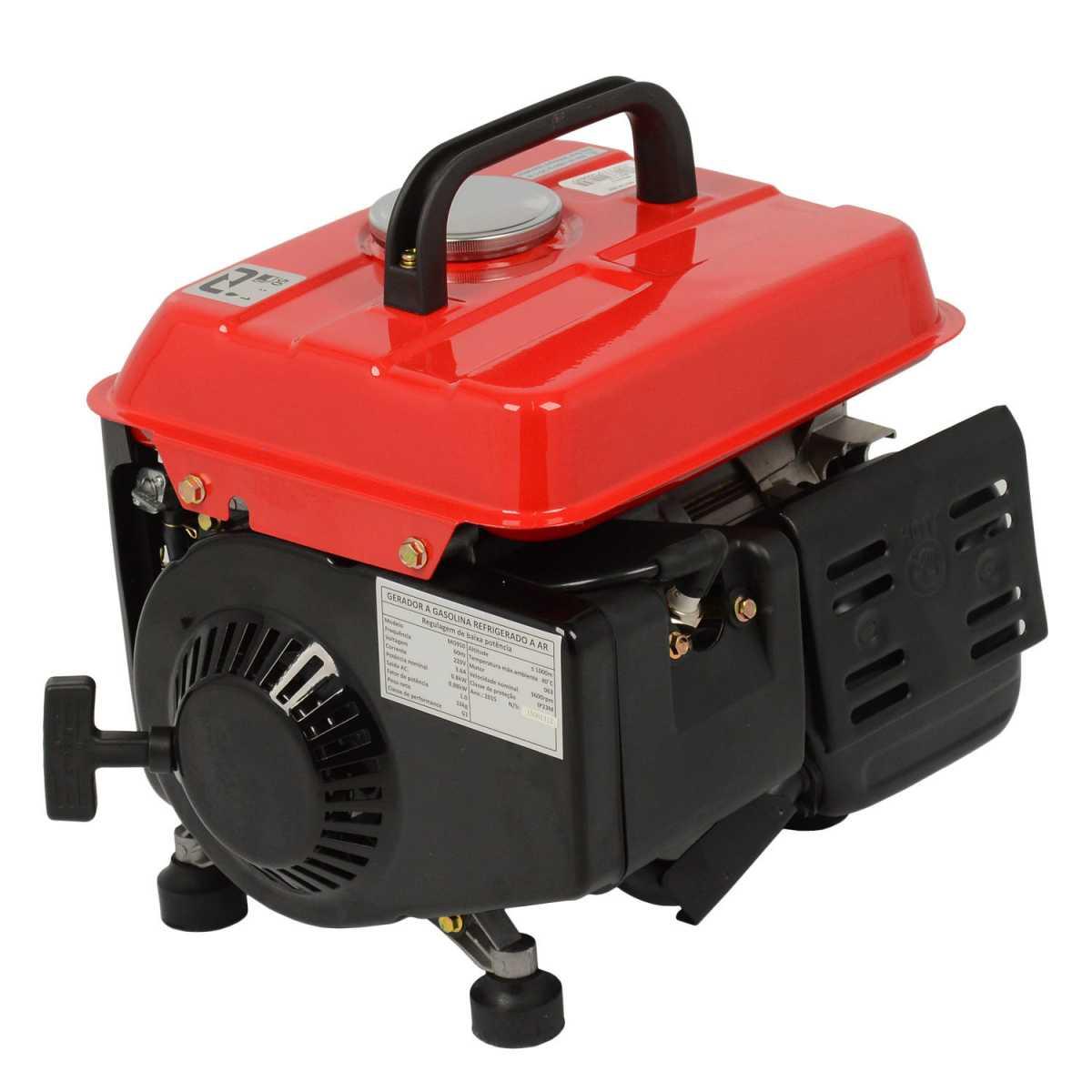 Gerador de Energia a Gasolina 800W Mg950 Motomil - Saída 127 Volts