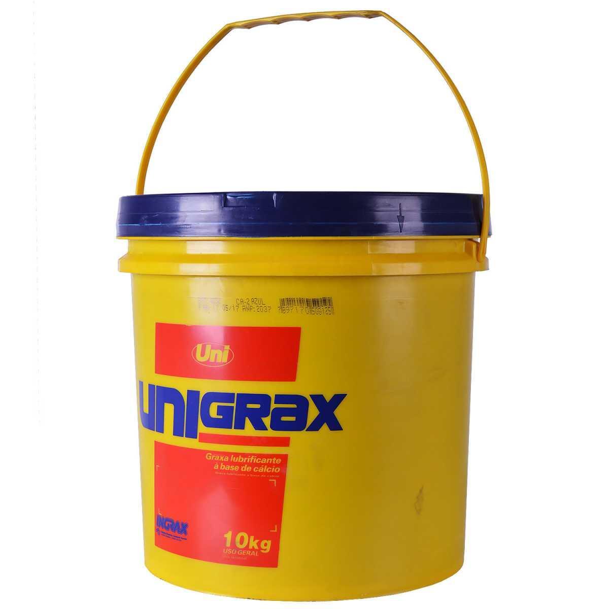 Graxa Azul Unigrax Ca-2 10Kg Ingrax