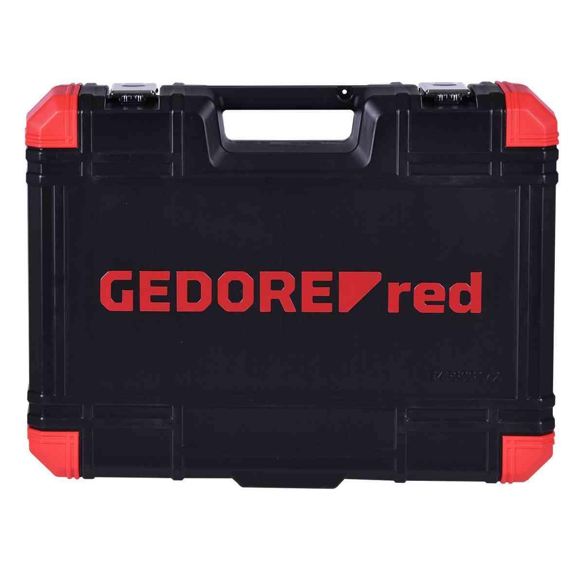 Jogo de Ferramentas com 172 peças R45603172 Gedore Red