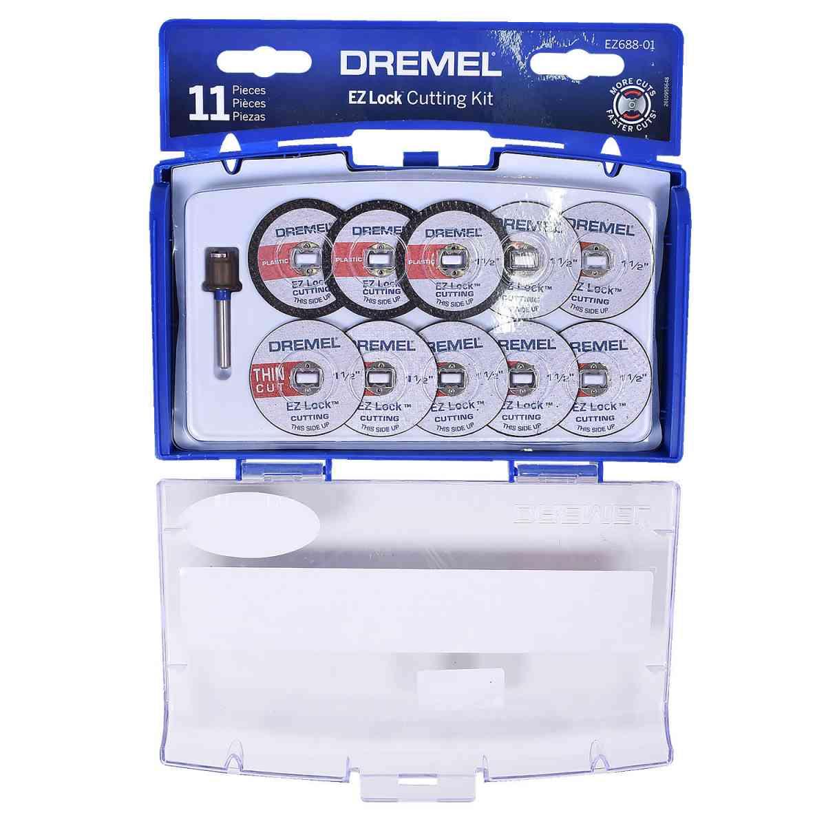 Kit De Acessórios Para Cortar EZ688 Dremel - 11 Peças