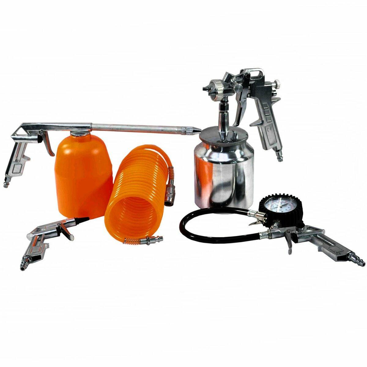 Kit De Pintura E Oficina Para Compressor 210500 Belfix - 5 Peças